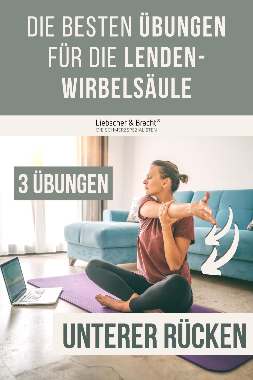 3 Übungen gegen Schmerzen im unteren Rücken | Lendenwirbel, LWS-Schmerzen