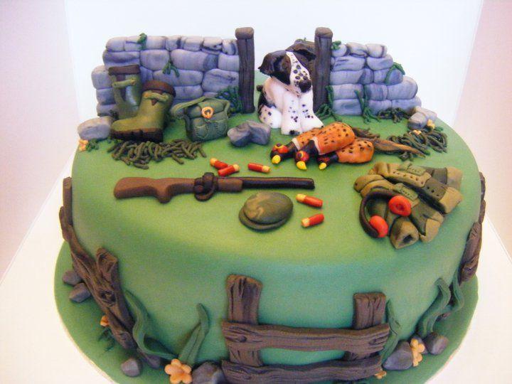 Gamekeepers Cake Cakes And Stuff Hunting Birthday