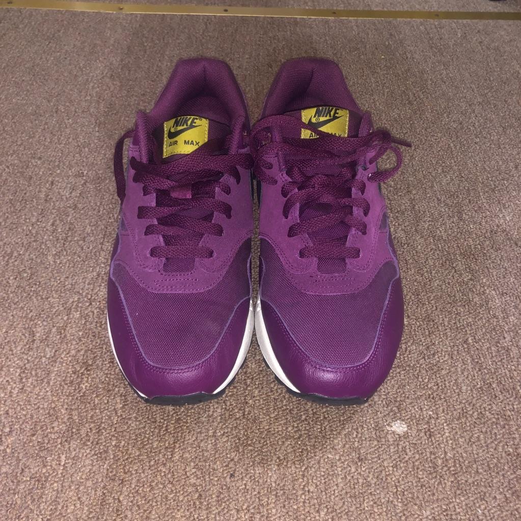 Nike Shoes   Nike Air Max 1 Premium Bordeaux   Color: Purple