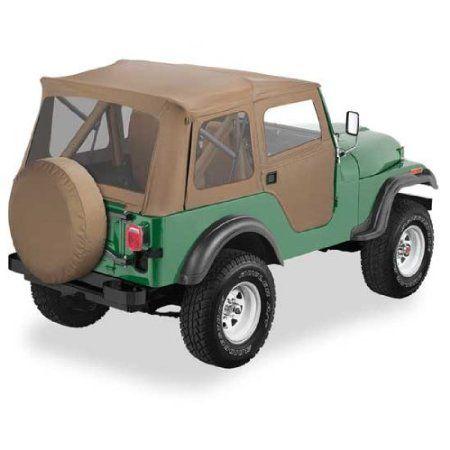 Bestop Jeep Cj Cj5 Bestop Supertop Soft Top Kit 76 83 Tan Jeep