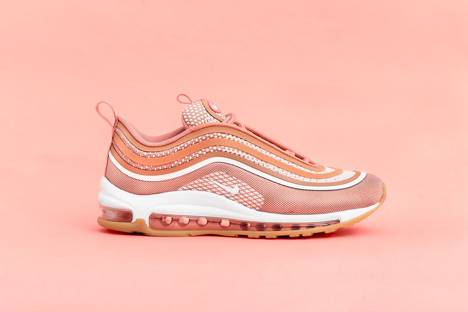 sale retailer 18283 71812 nike air max 97 ultra metallic rose gold, athleisure, casual outfit