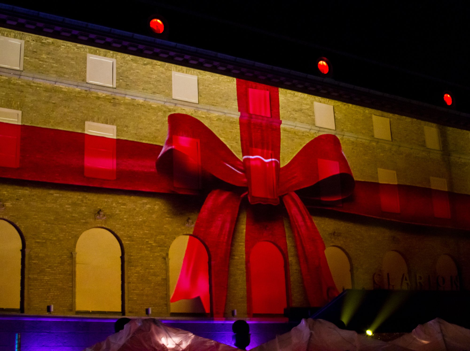 christmas projection mapping Google Search イルミネーション