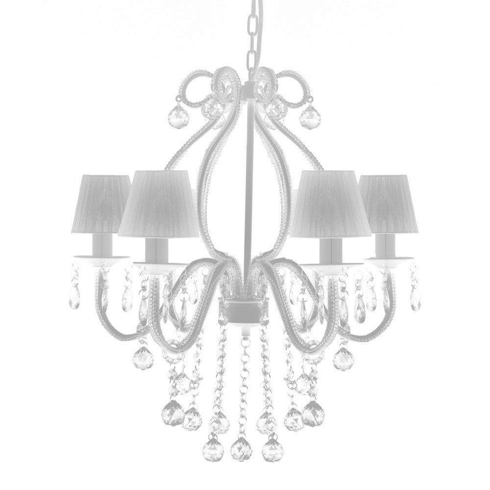 Kristall Kronleuchter Luster Deckenleuchte Hangeleuchte Lampe Glas 6