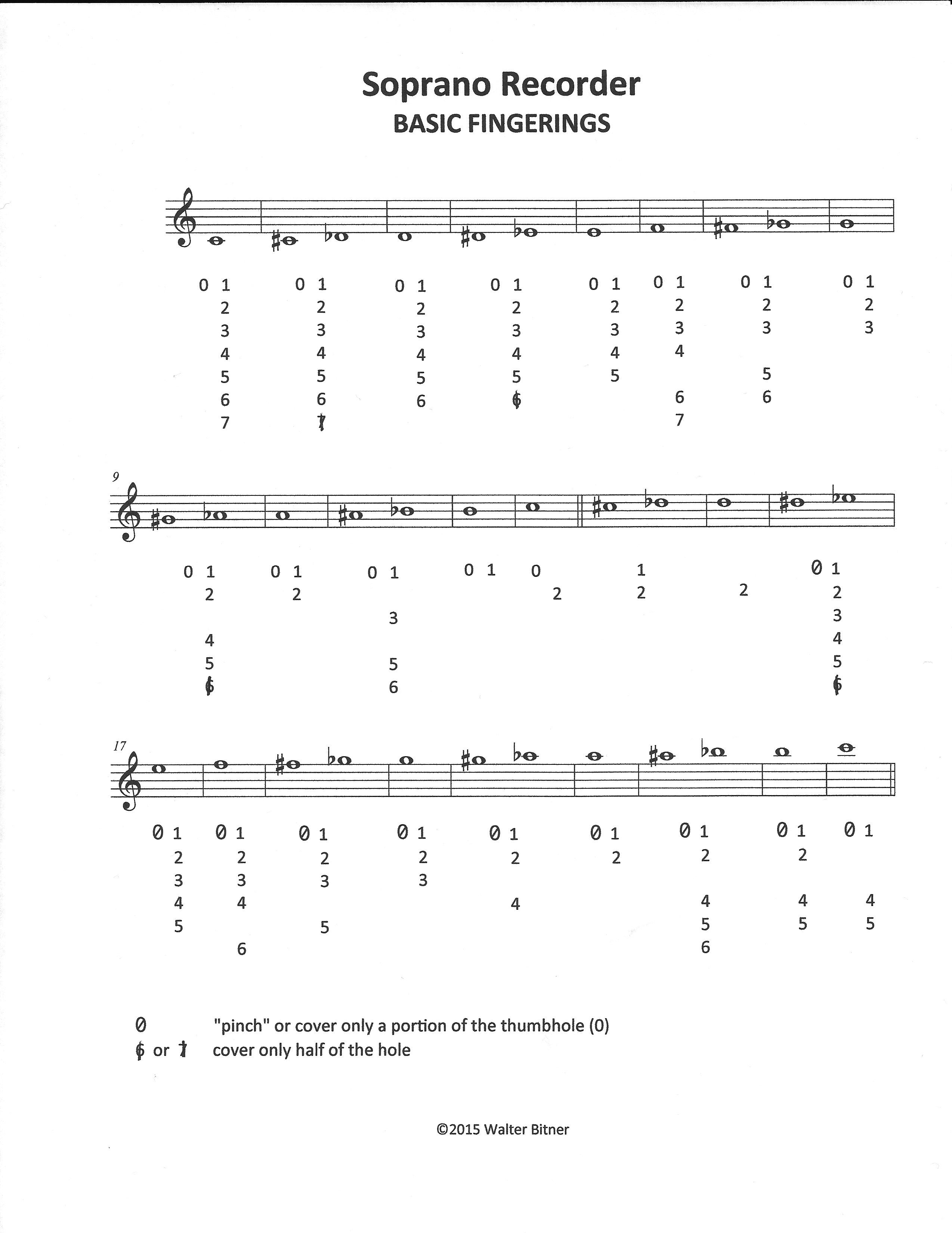 How To Teach Recorder Fingerings With Images