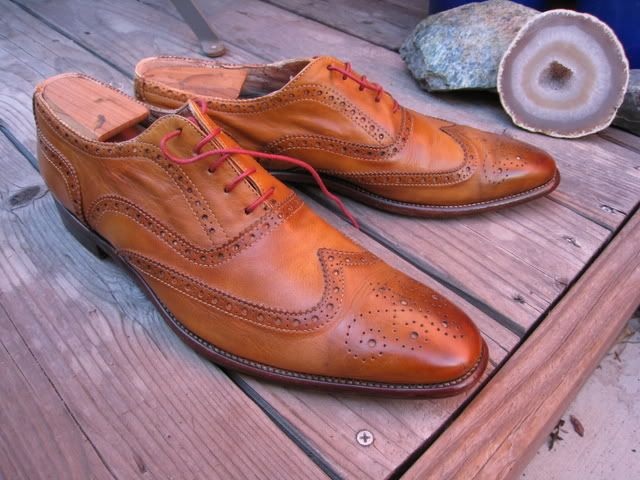 These Paul Smith Wingtips are sure purdy.