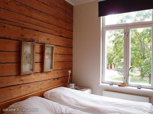 Beautiful wooden wall / Kaunis puuseinä