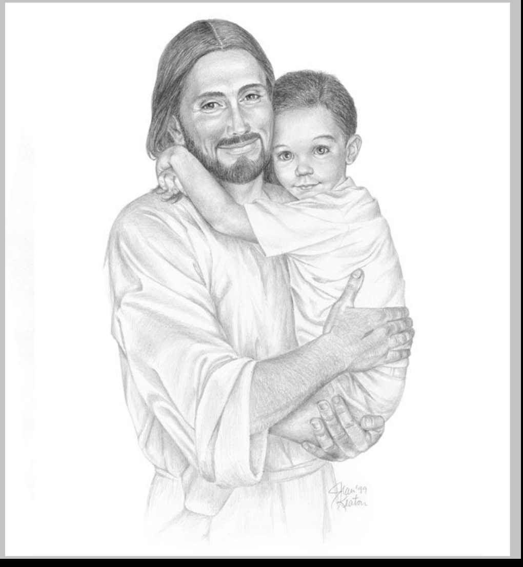 1pencil drawings of jesus and children 56699008 jpg 1020 1106