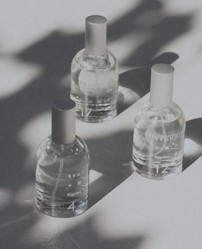 Introducing three Eau de Toilette sprays, three new fragrance chapters in the story of Scandinavia. #Skandinavisk #KapitelSkandinavisk #SkandinaviskEaudeToilette #KapitelofScandinavia #EaudeToiletteLaunch #FragranceLaunch #NewFragrances #NewScents #BookChapter #Kapitel17 #Kapitel #RemoteRefrain #Flacon #PackagingDesign #EaudeToilette #ScentNotes #SenseofScandinavia