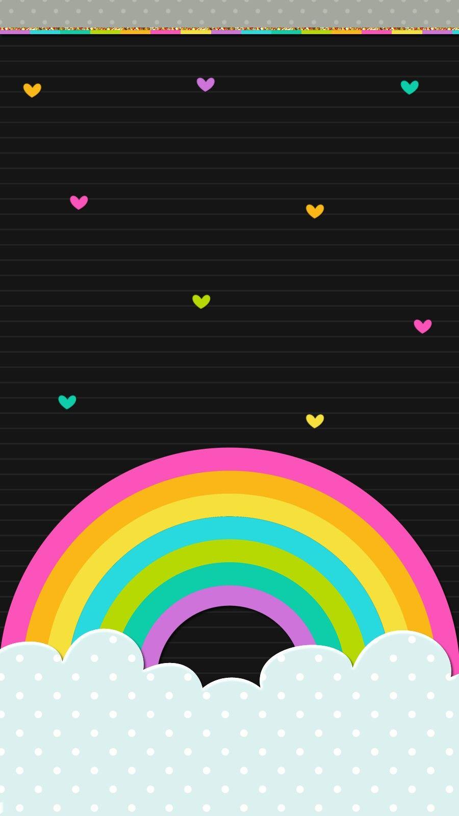 Wallpaper Iphone Rainbow Wallpaper Iphone Wallpaper Watercolor Wallpaper Phone