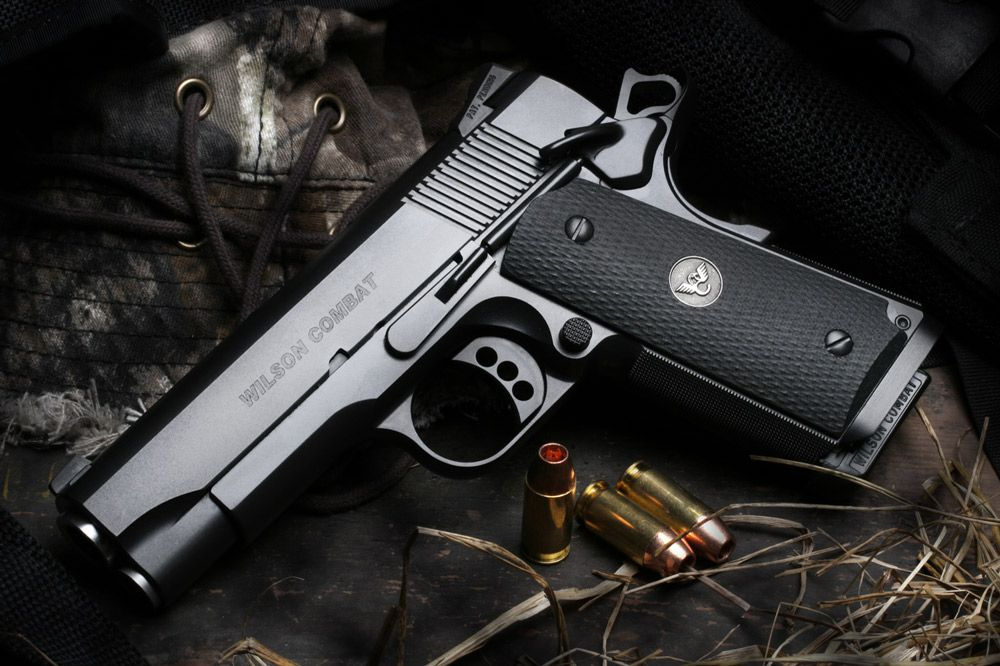 Wilson Combat CQB Compact.  I need one of these to carry.