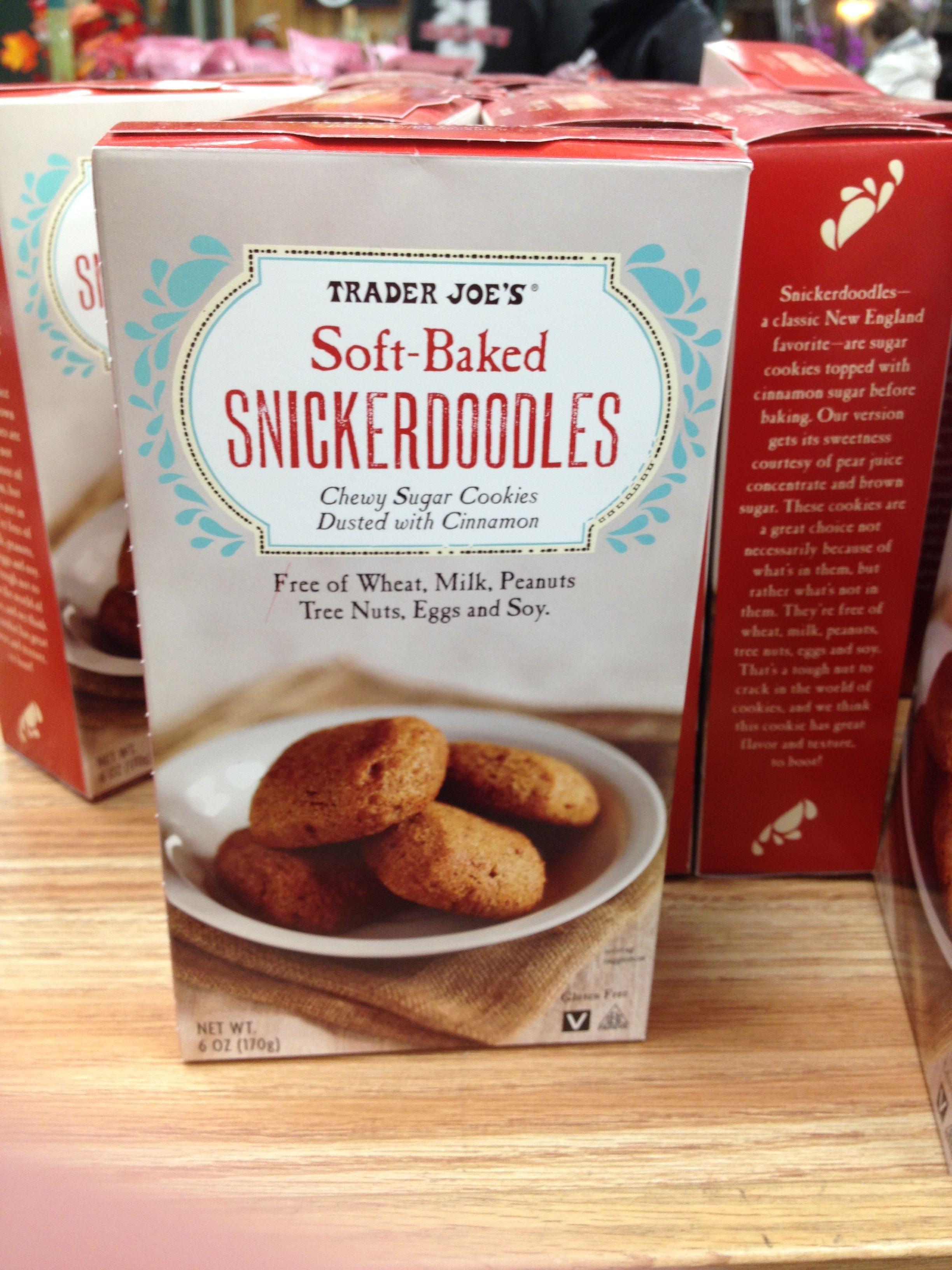 Trader Joes Soft Baked Snickerdoodles Chewy Sugar Cookies