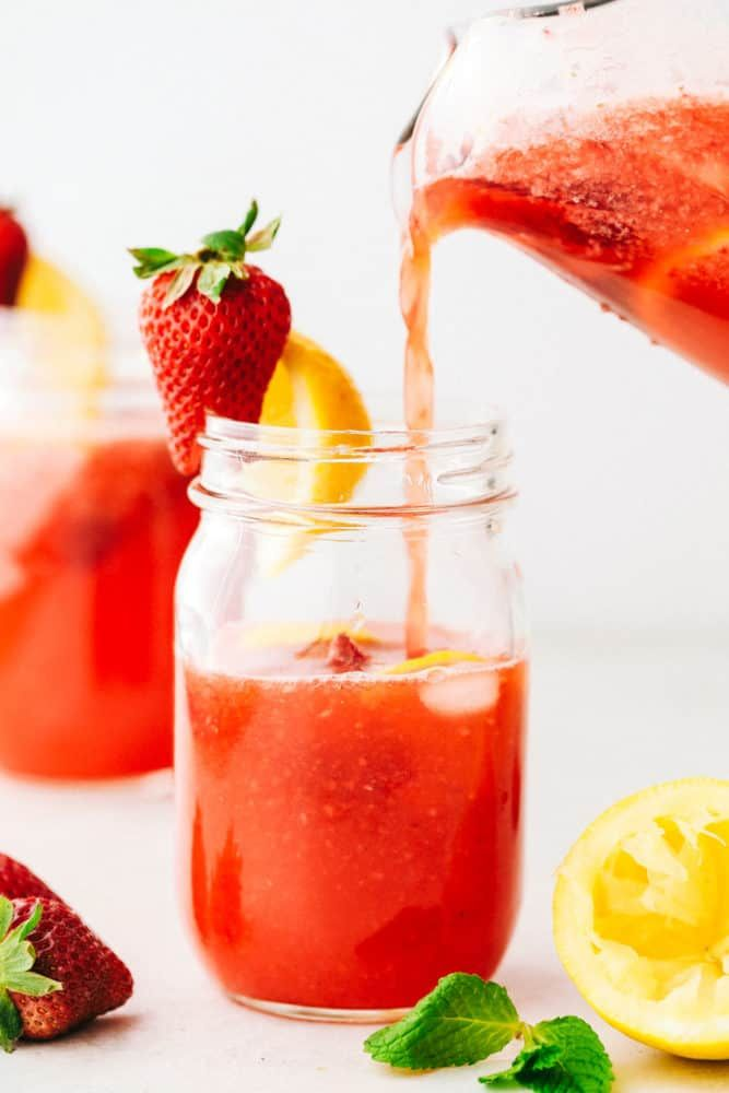Homemade Strawberry Lemonade Recipe   The Recipe Critic