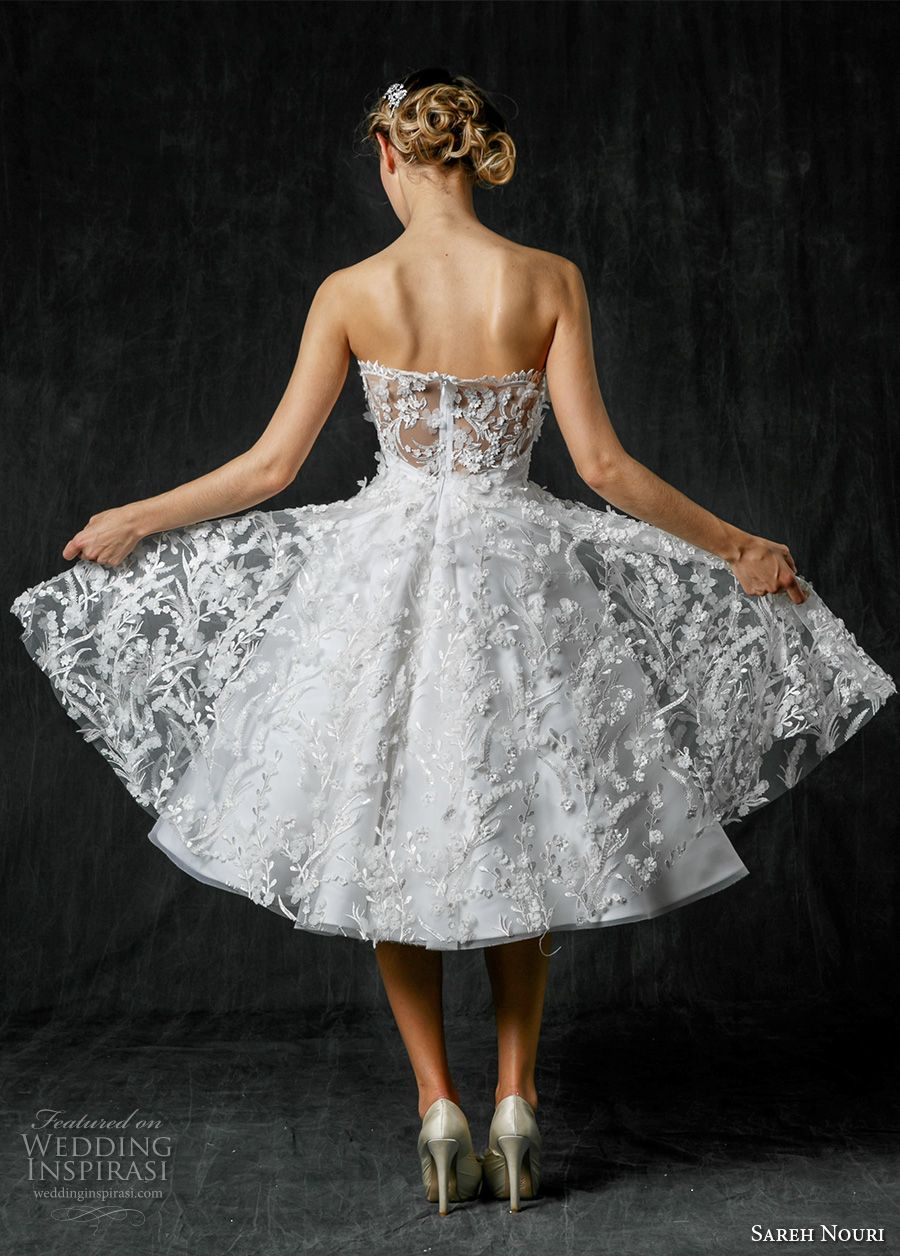 Sareh nouri fall 2017 wedding dresses short wedding dresses sareh nouri fall 2017 wedding dresses ombrellifo Gallery
