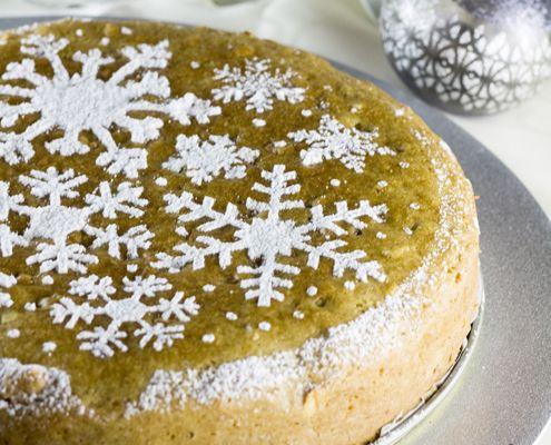 Tamara Novacoviç con otra gran idea para hornear la Navidad. Un muy lindo pastel de frutas.
