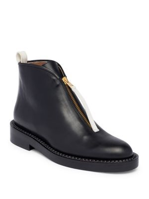 61f144a14c MARNI Hinge Leather Flat Booties.  marni  shoes  flats