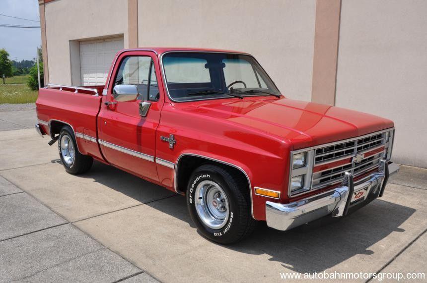 1986 Chevrolet Silverado Swb For Sale Chevrolet Silverado Chevrolet Trucks Cool Trucks