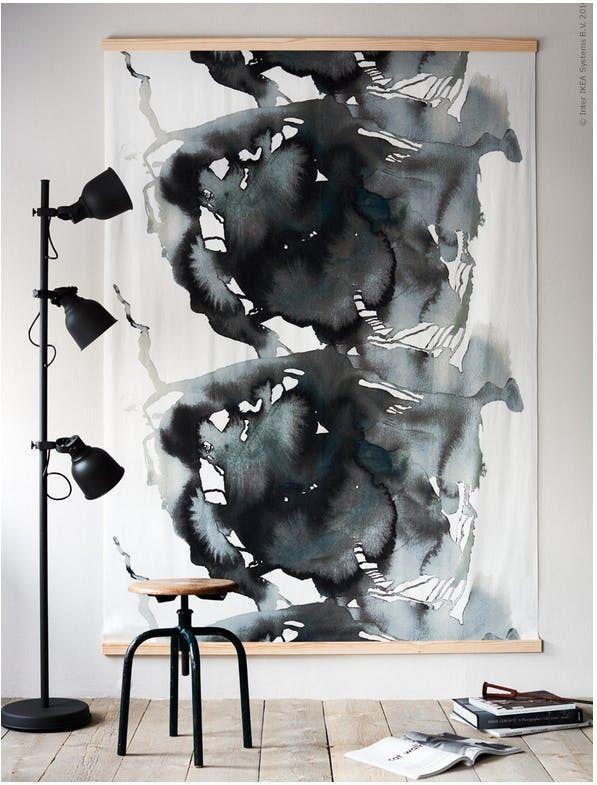 Brilliant Ikea Hacks For Big Blank Walls Ikea Art Diy Wall Art