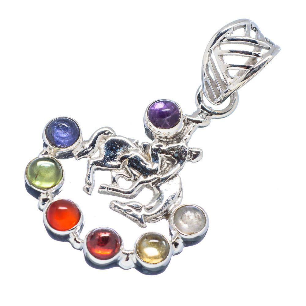 Chakra horse 925 sterling silver pendant 1 12 ana co jewelry chakra horse 925 sterling silver pendant 1 12 ana co jewelry p466900f aloadofball Choice Image