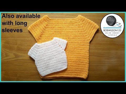cc7410c3c9fb Written crochet pattern and video tutorial for an easy crochet ...
