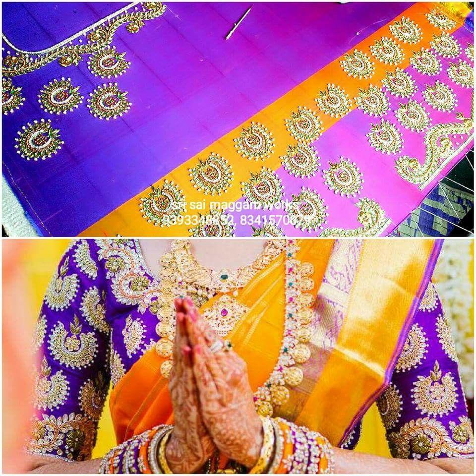 Pin de Ranjitha Reddy en Blouse designs   Pinterest