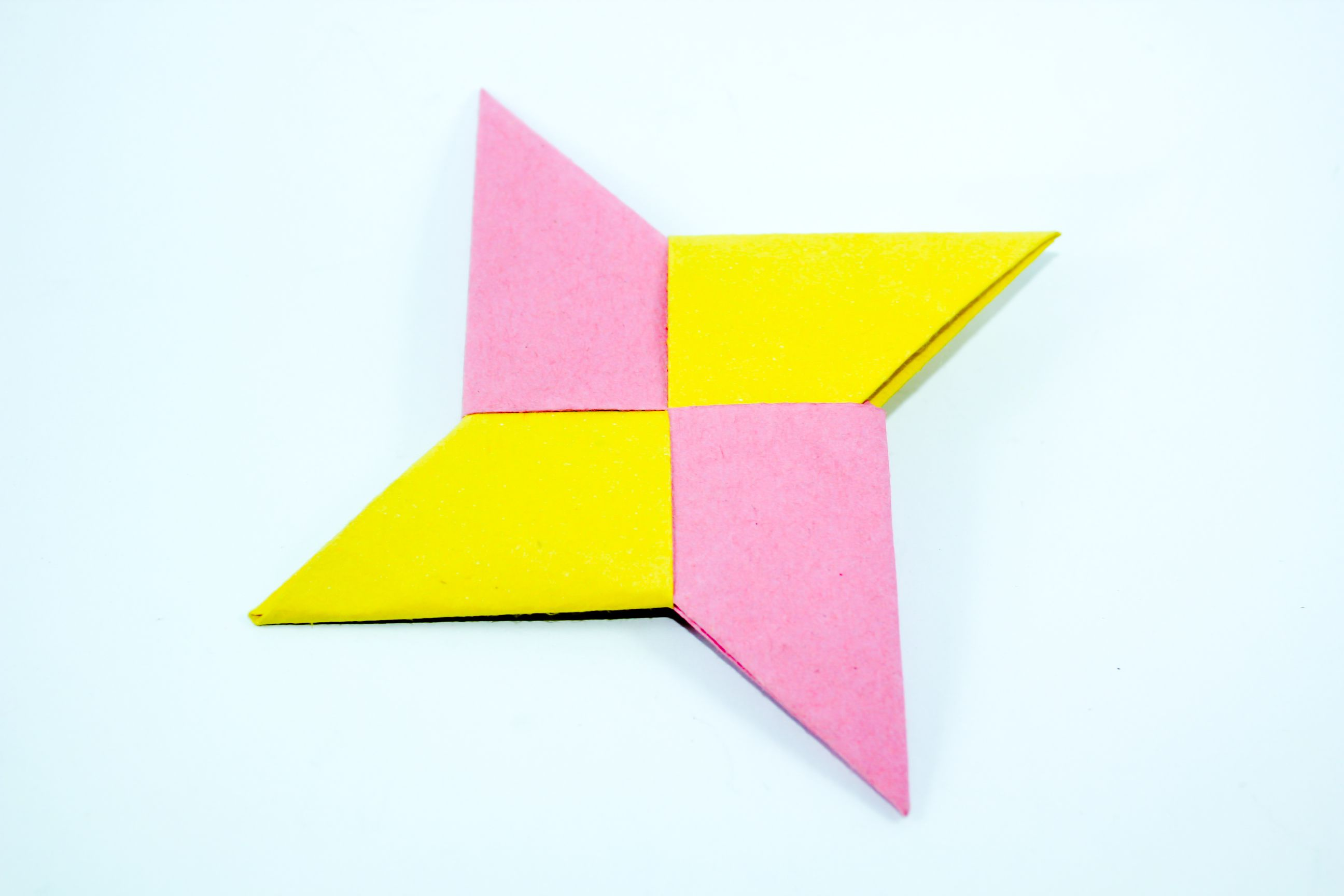 Make a Ninja Star from Square Paper | wikiHow to Make ... - photo#28