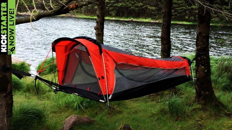 Tent hammock Crua Hybrid Kickstarter hammock glantenassig-013 & Tent hammock Crua Hybrid Kickstarter hammock glantenassig-013 ...