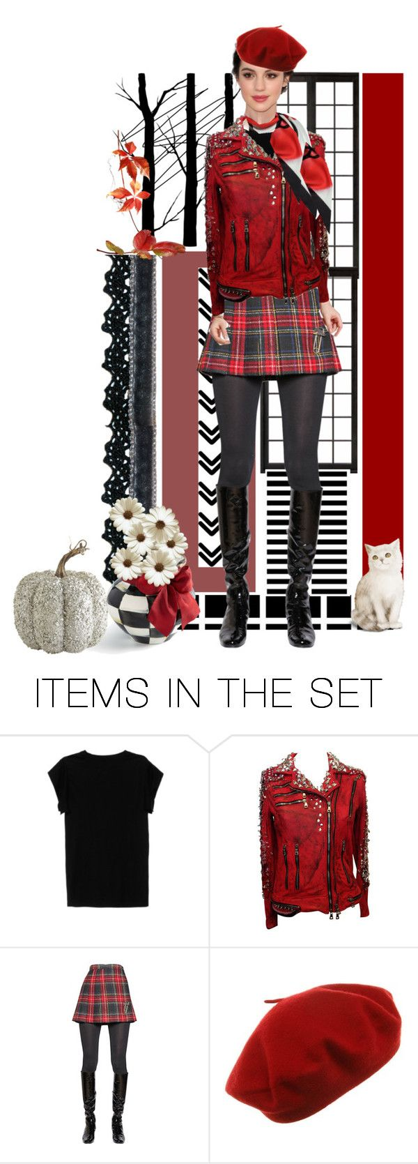 """Red/Black/White"" by skpg ❤ liked on Polyvore featuring art"