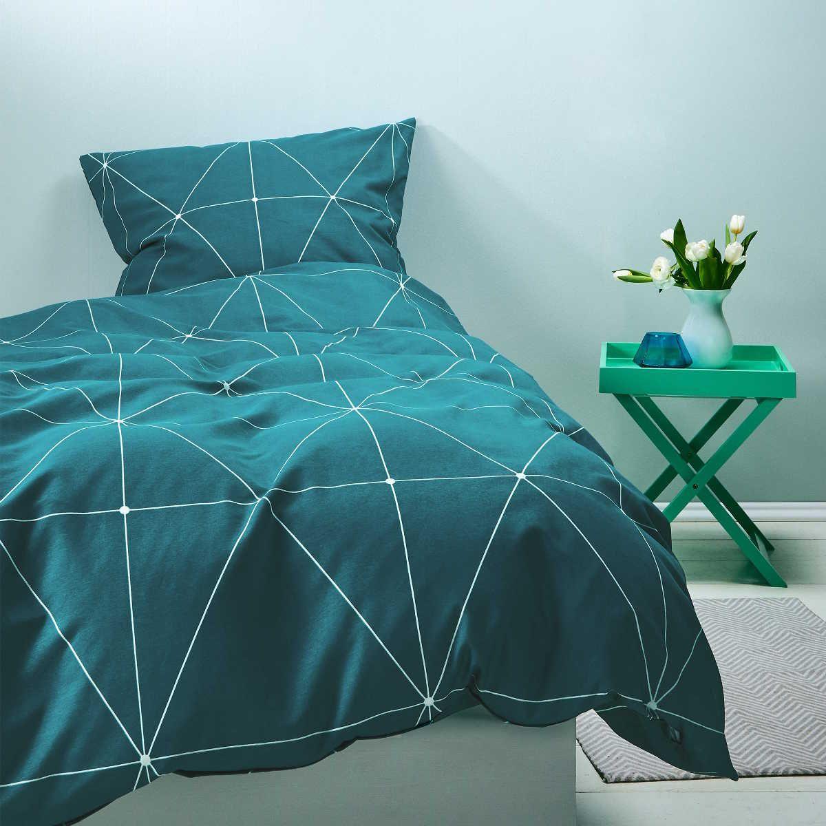 Bettwasche 200x200 2x 80x80 Cm Baumwolle