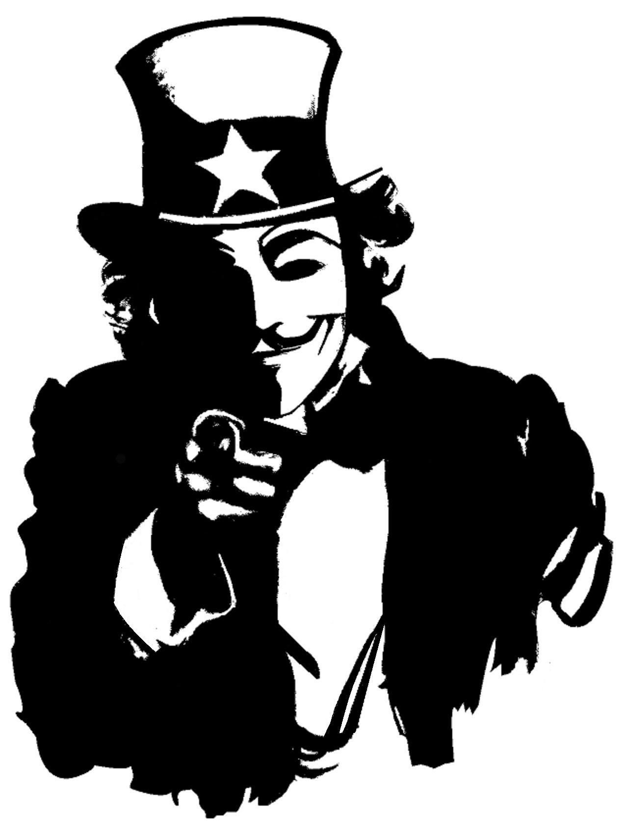 Anonymous Uncle Sam Stencils On Stencil Revolution