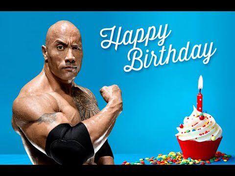 7fb63f3c4b3427c978df71644caafa36 the rock says happy birthday! birthday basics pinterest