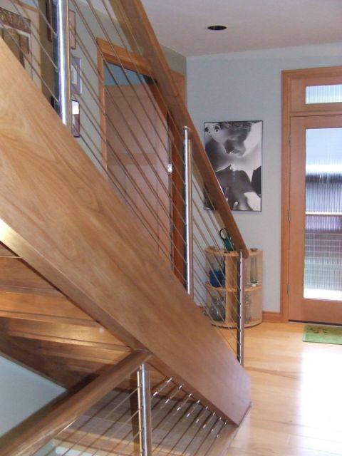 صور درابزين درج للفلل والدوبليكس بأحدث الاشكال ميكساتك Staircase Railings Stairs Stair Railing