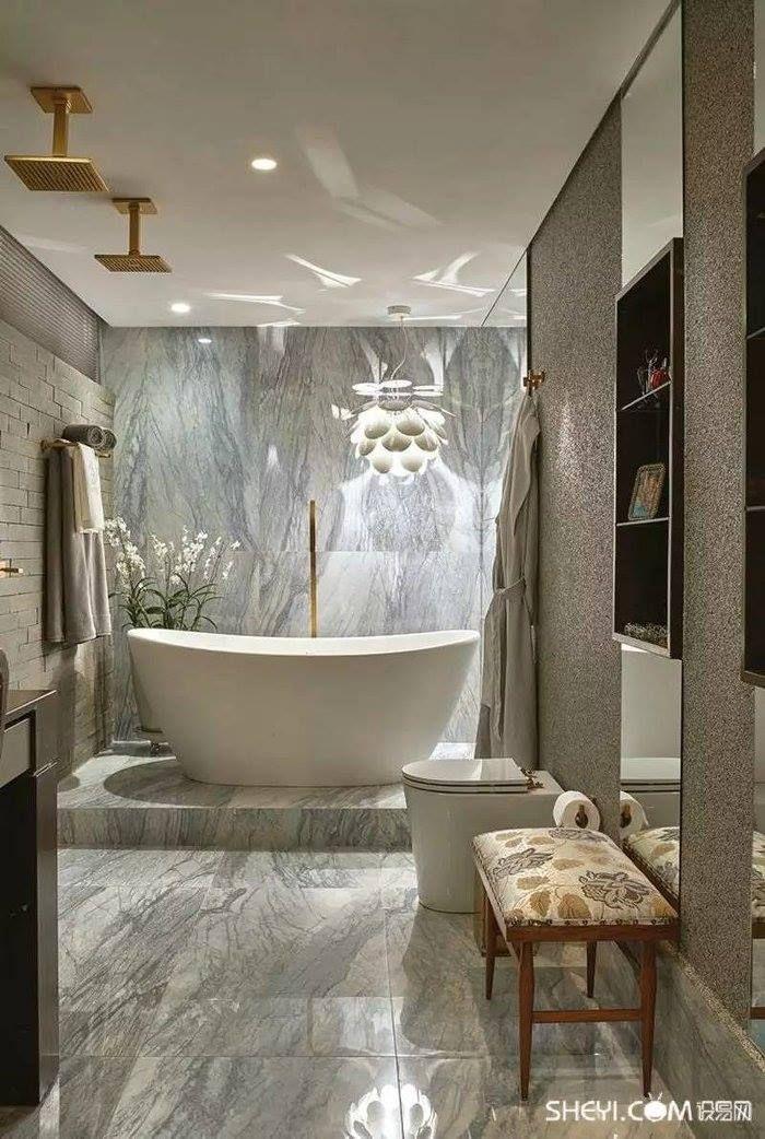 Ideas para bañeras, bañera y ducha en el mismo baño, baños con - Baos Modernos Con Ducha Y Baera