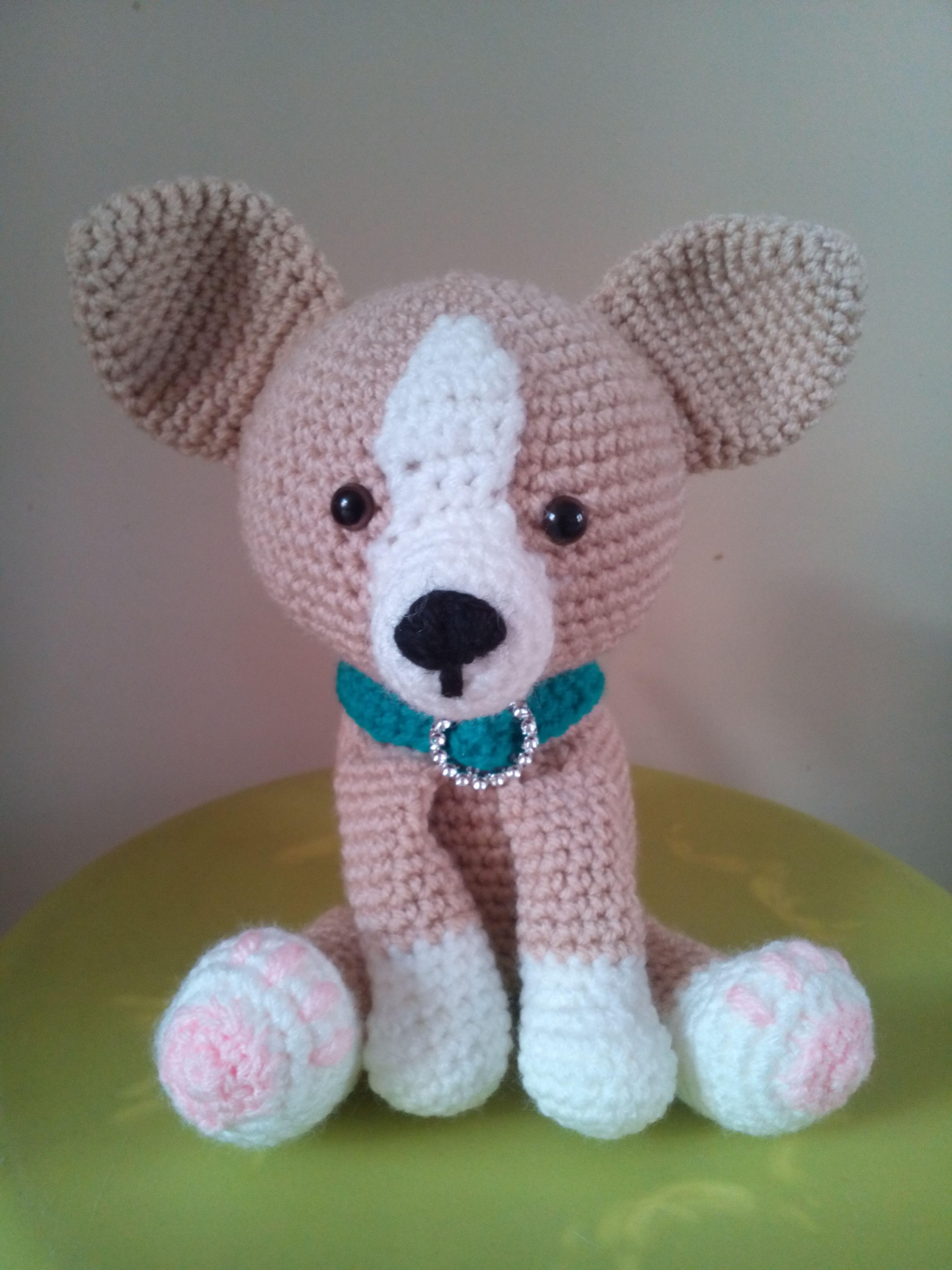 Chihuahua... patroon van Krissie Dolls   Haken / Made by Petra ...