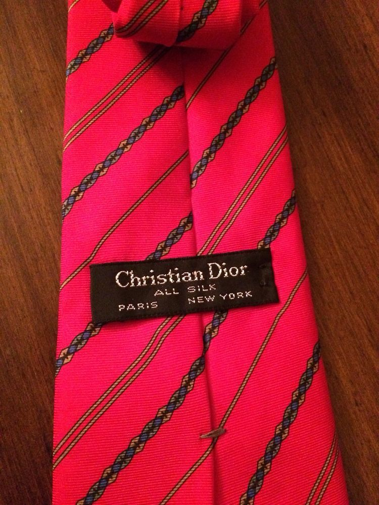 503ca0ec3bd4 Christian Dior Tie Paris New York All Silk Red Color Excellent Condition  Printed #fashion #clothing #shoes #accessories #mensaccessories #ties (ebay  link)