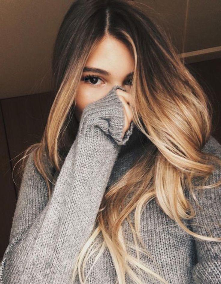 Id e tendance coupe coiffure femme 2017 2018 ombr - Ombre et hair ...