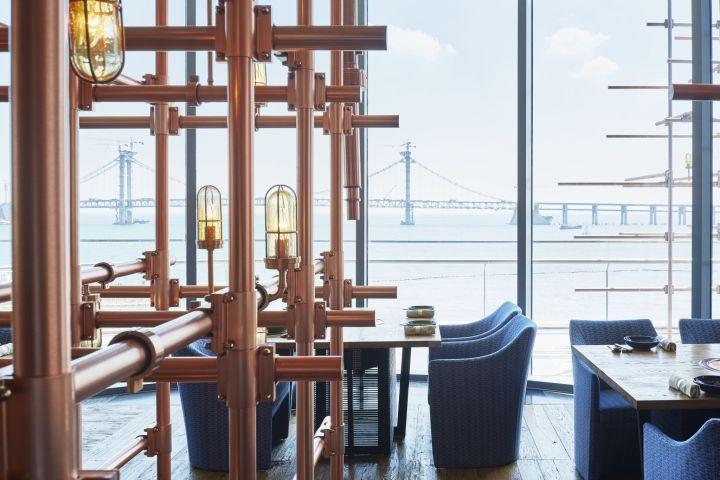 Grand Hyatt Dalian – The Smoke House by NAO Taniyama & Associates, Dalian – China » Retail Design Blog