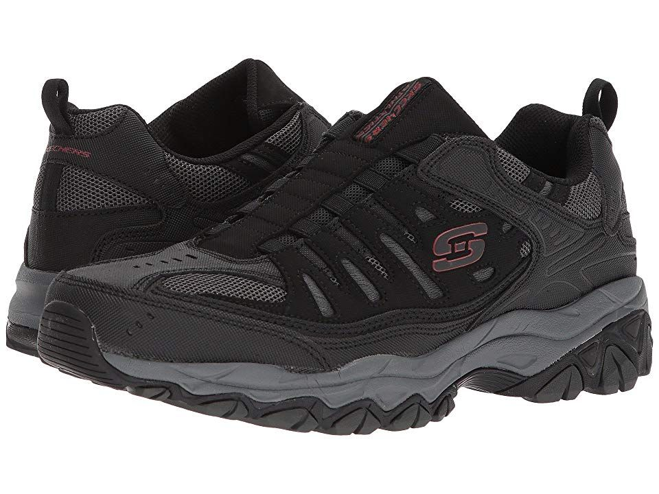 Skechers After Burn M Fit Black Charcoal Men S Shoes A
