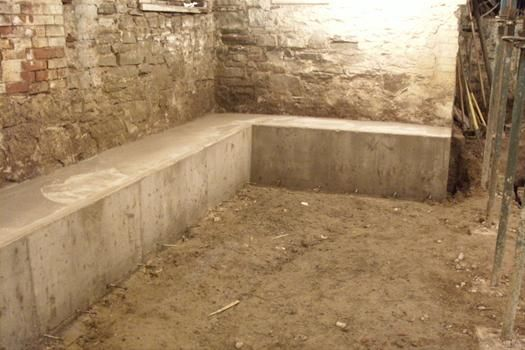 Adding Height To Your Basement Underpinning Or Benching Toronto Realty Blog In 2020 Basement Construction Basement Flooring Old Basement