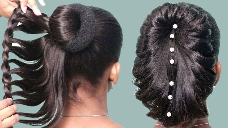 Schöne Frisuren für Hochzeit / Party || Hochzeitsgast Frisuren || Einfache Haare …, #Beauti …