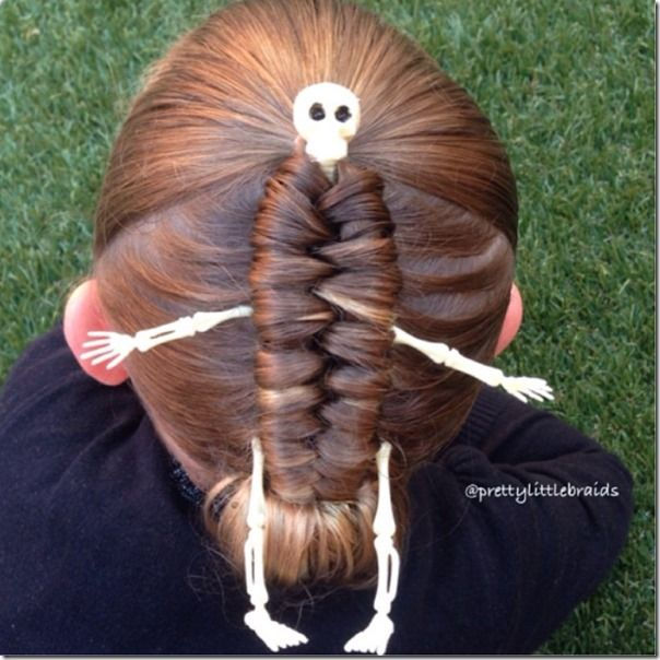 creative & fun halloween hairstyles