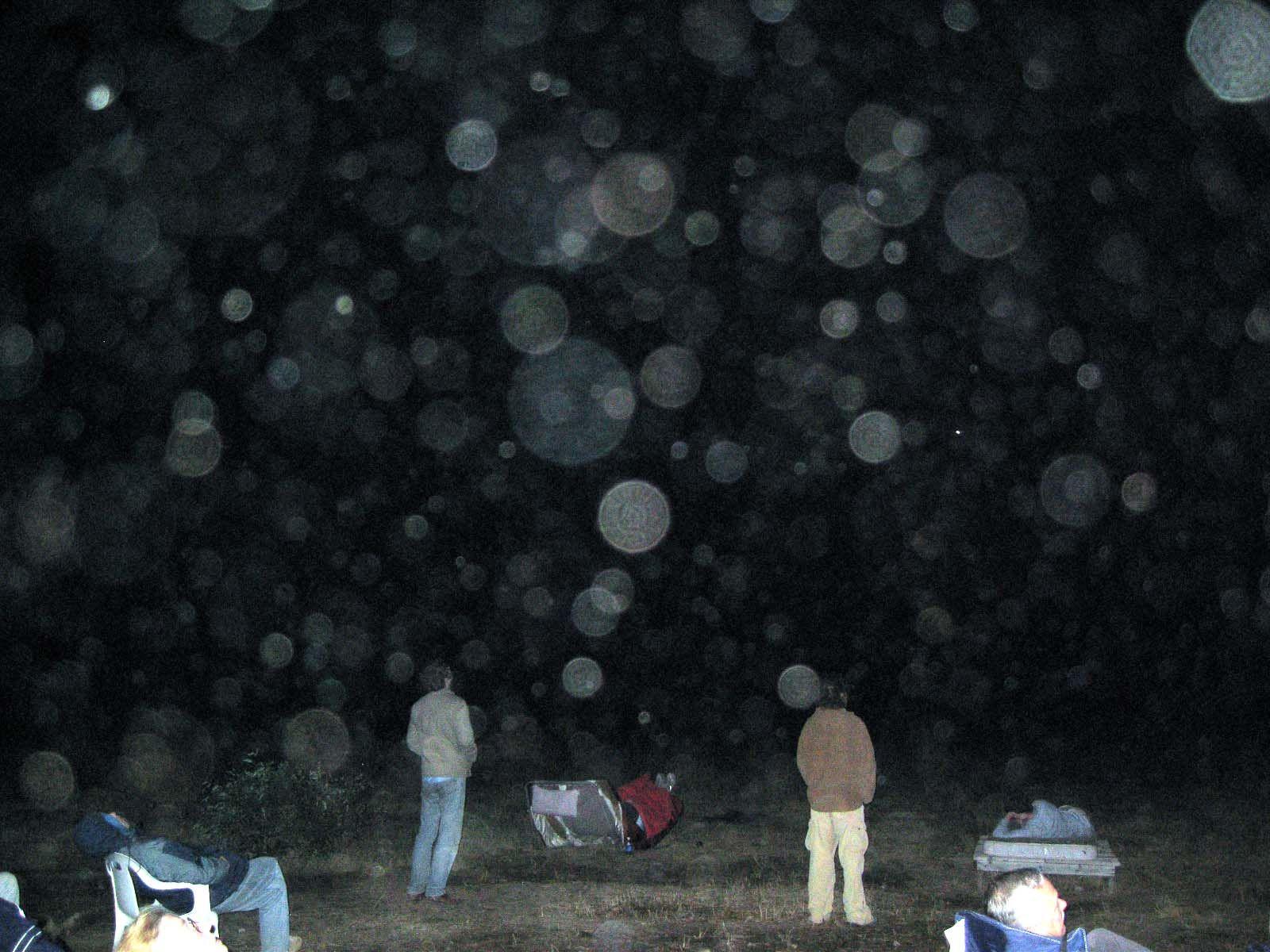 белые круги на фото что это найти человека