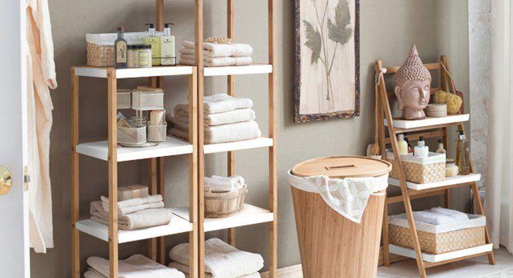 Badezimmer mit natürlichem Charme