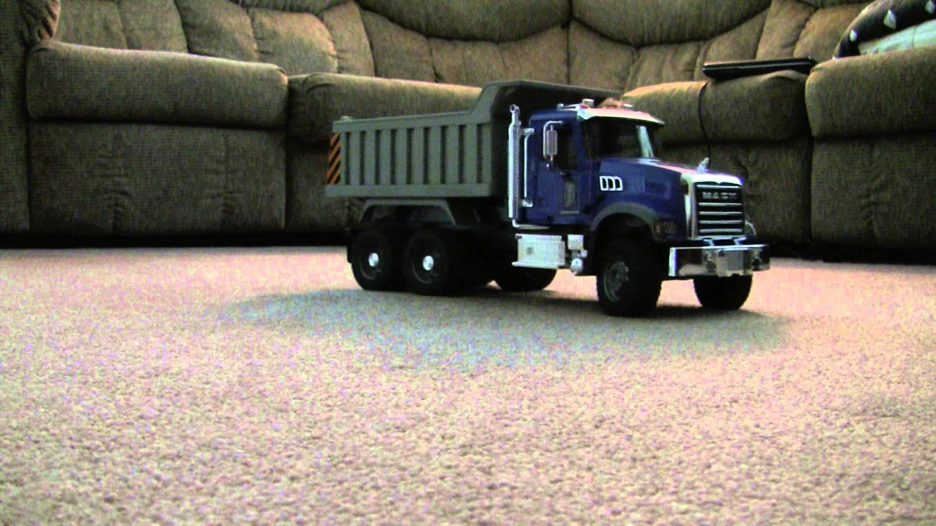 Bruder Mack Granite Dump Truck Rc Conversion Dump Truck Trucks Mack