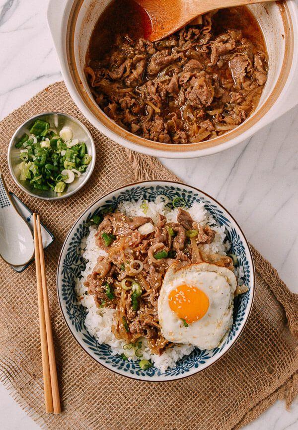 Photo of Gyudon (Japanese Beef & Rice Bowls) | The Woks of Life