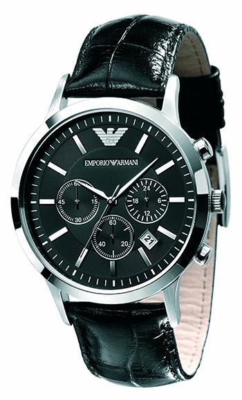 emporio armani montre chronographe