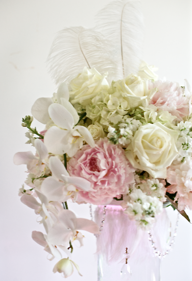 Diy centerpieces beautiful vintage romantic w peonies
