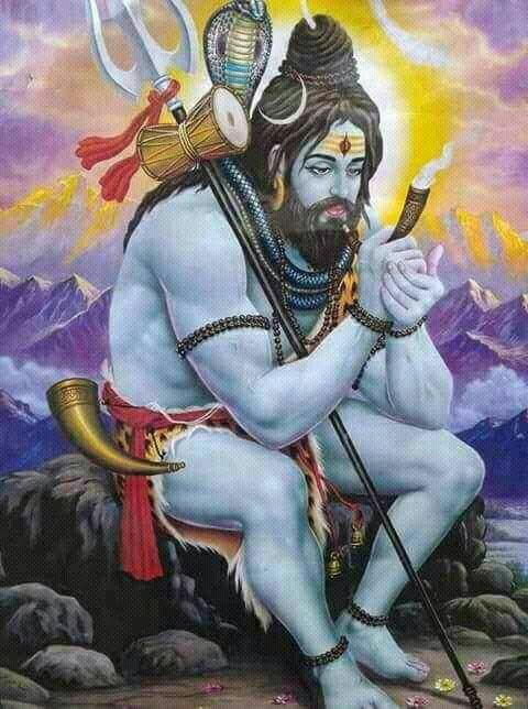 Pin By Ashwani Kumar Ojha On Beautiful Pic 4 Lord Shiva Painting Shiva Lord Wallpapers Mahakal Shiva
