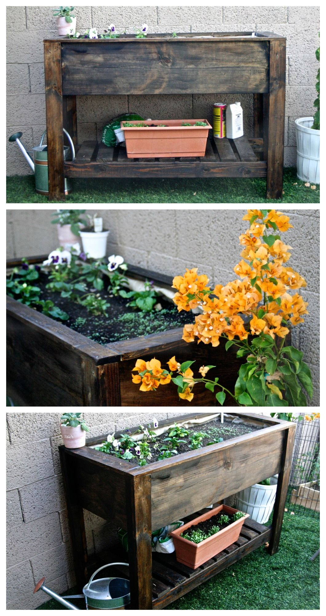 Ana White Raised Planter Box - Diy Projects Porches