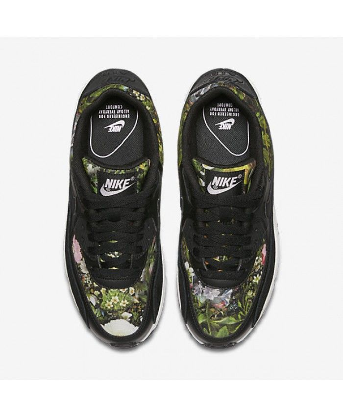 8e6b38823e Nike Air Max 90 SE Black/Prism Pink/Summit White Womens Shoes & Trainers