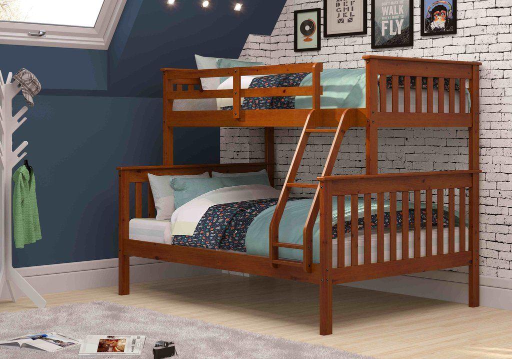 Jayden Espresso Twin over Full Bunk Bed